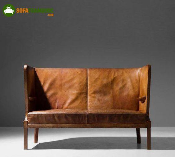 ghế sofa phong cách xưa cũ đơn dài