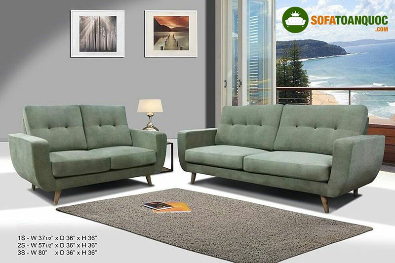 Sofa nỉ Malaysia nhập khẩu