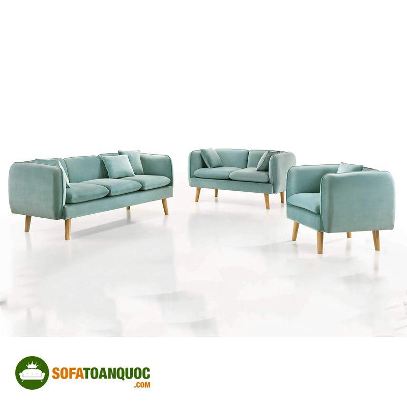 sofa nỉ nhập khẩu malaysia đẹp