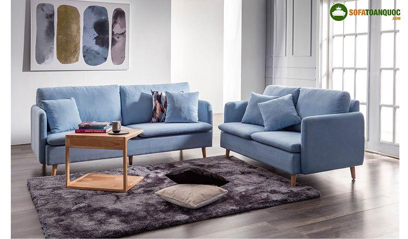 bộ ghế sofa nỉ malaysia nhập khẩu