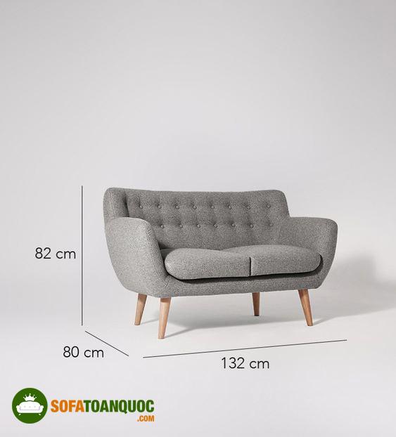 kích thước sofa văng thuyền mini