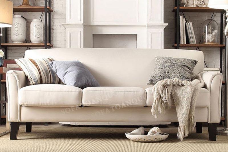 sofa văng vải đẹp màu xám