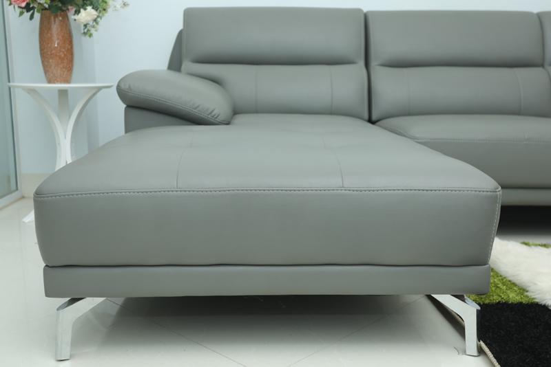sofa da đẹp cho phòng khách