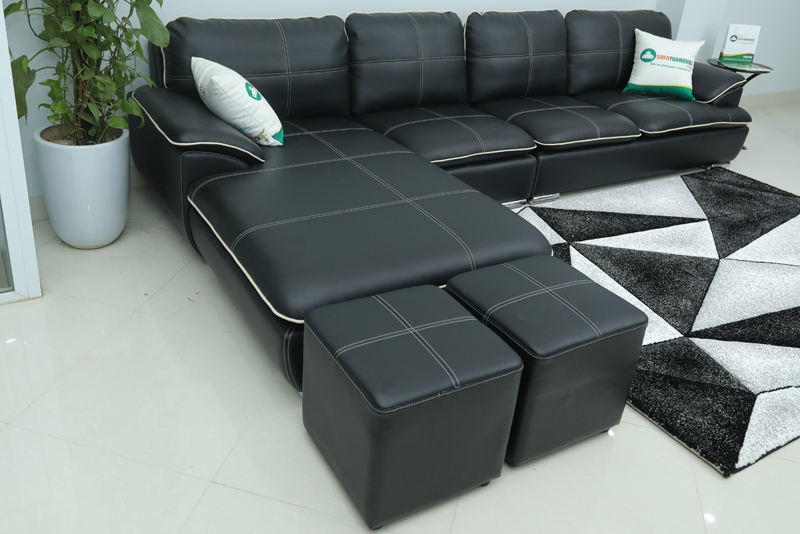 ghế sofa kích thước lớn kèm đôn sofa
