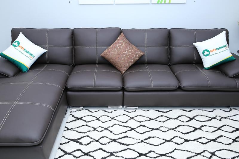 sofa góc trái màu đen