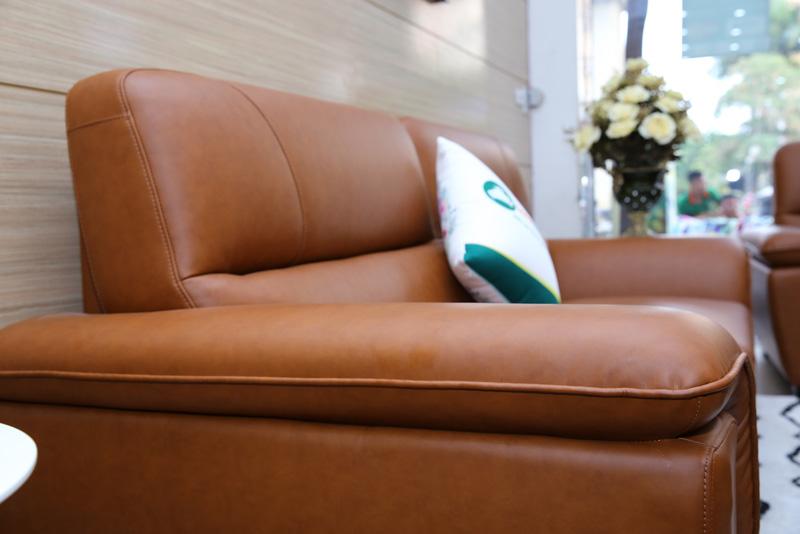 ghế sofa bọc da đẹp và sang trọng