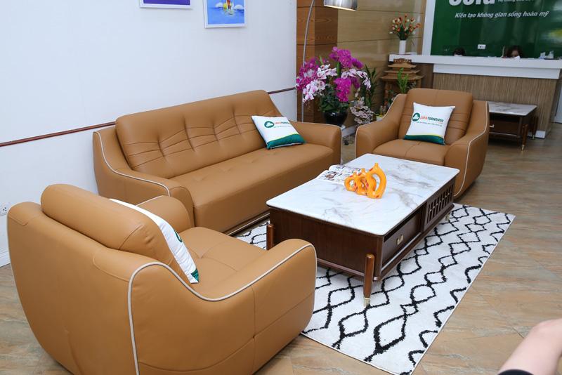 ghế sofa da 3 ghế 1-1-2
