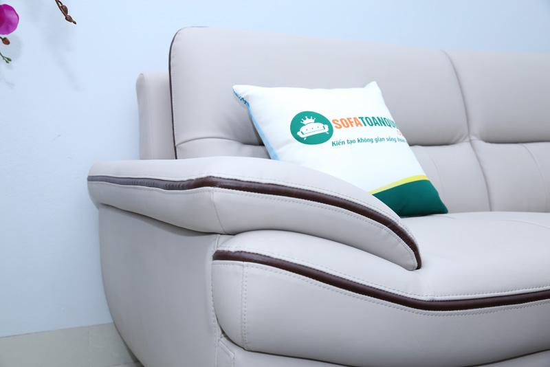 sofa da công nghiệp kiểu sofa góc
