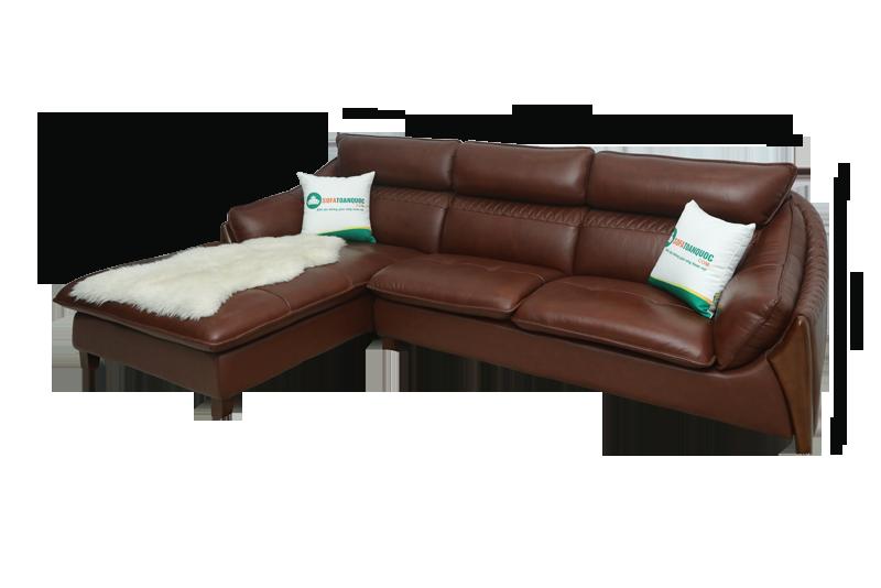 thông số kích thước bộ ghế sofa da bò thật vh26