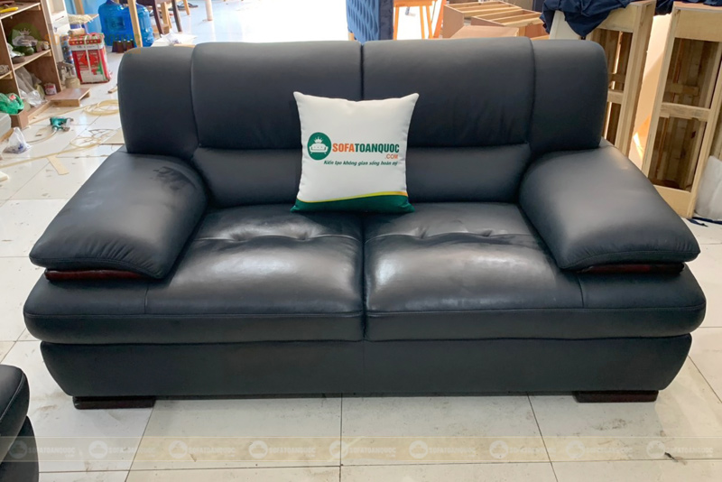 Bộ sofa da thật Brazil văn phòng mã 245