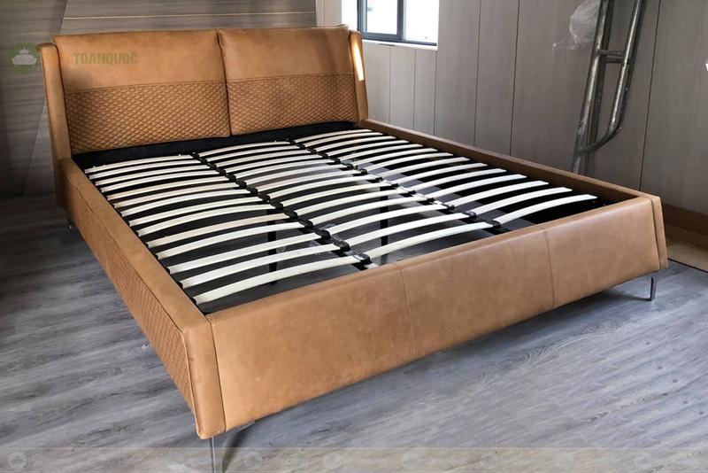 Giường ngủ da đẹp mã 103