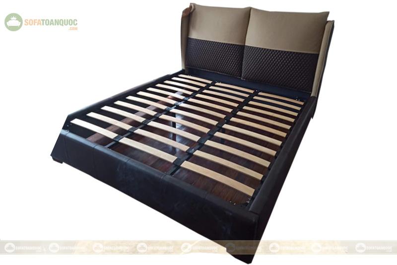 Giường ngủ da đẹp mã 107
