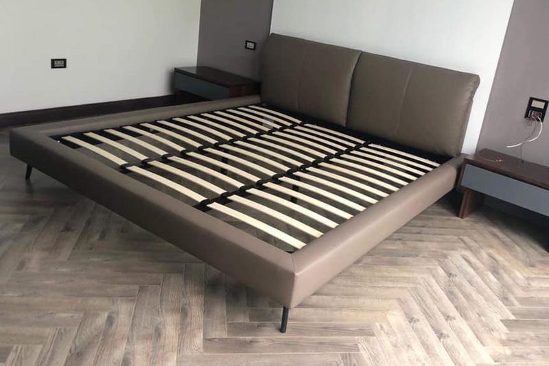 Giường ngủ da đẹp mã 109