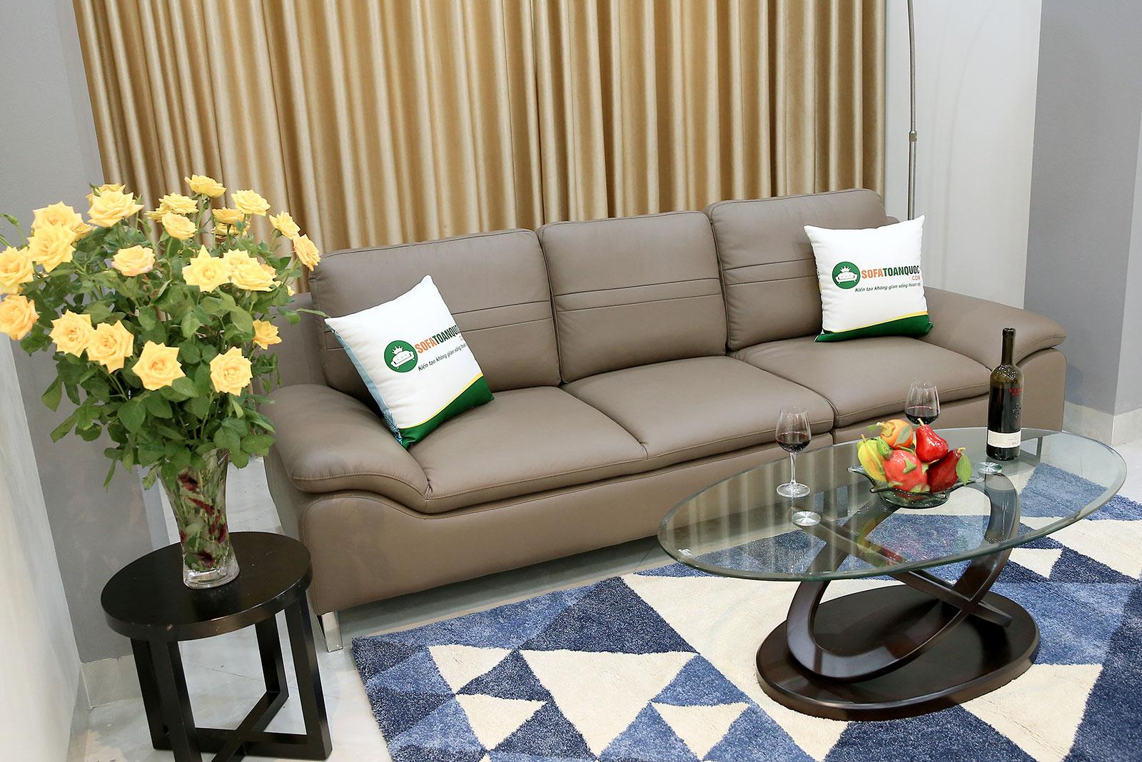 Sofa văng đơn dài tựa rời kích thước 2m5 mã 200