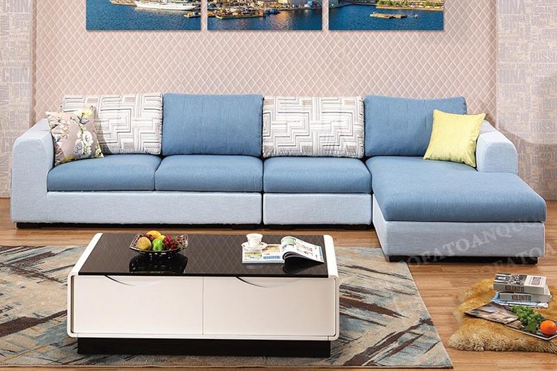sofa bọc vải kích thước lớn