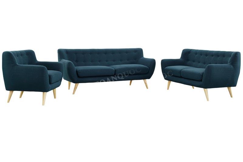 mẫu sofa nỉ nhỏ gọn dài 2m