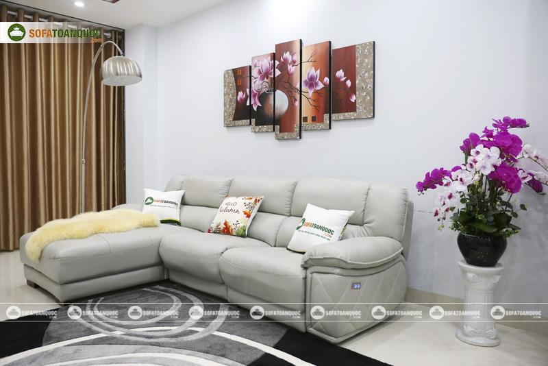 sofa da kèm gối ôm