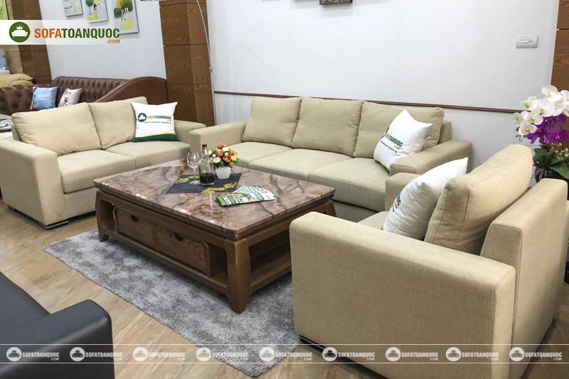 bộ ghế sofa góc 3 món cho mùa đông