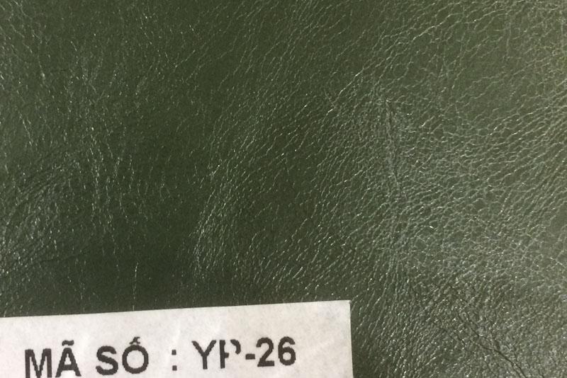 Mẫu da microfiber samebook Yp mã 22