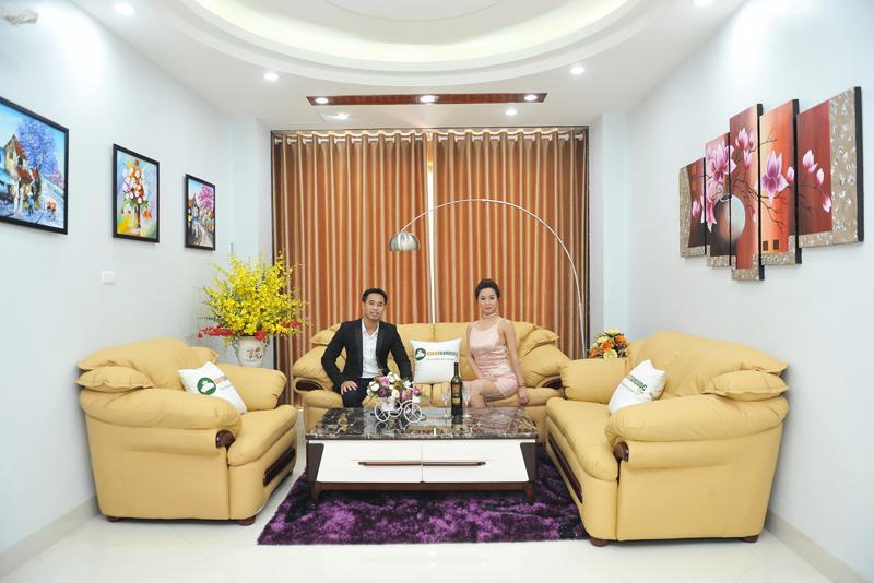 Bộ bàn ghế sofa phòng khách đẹp giá rẻ tại Hà Nội