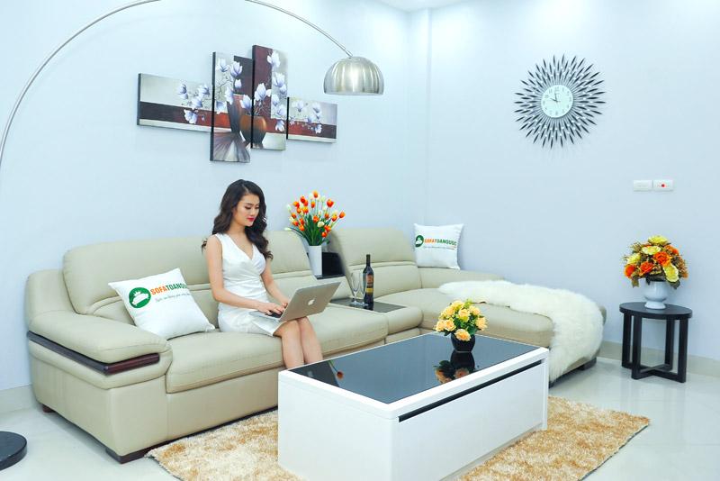 Bộ bàn ghế sofa nhập khẩu tại Hà Nội