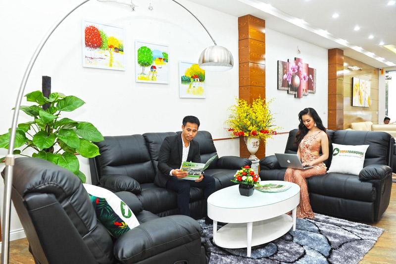 Bộ bàn ghế sofa sang trọng tại sofa toàn quốc