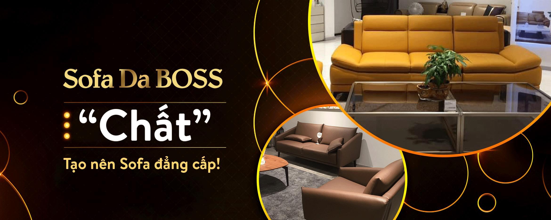 sofa da boss