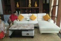Bàn giao mẫu sofa mới nhất Anh Học - KĐT Sinh Thái Xuân Phương - Nam Từ Liêm - Hà Nội