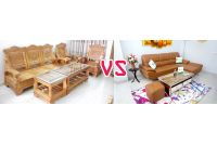 Phân vân nên mua bàn ghế gỗ hay sofa trong năm 2020?