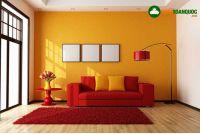 Tường Màu Vàng Chọn Sofa Màu Gì Đẹp?