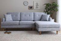 5 mẫu sofa nỉ mini cho phòng khách chung cư nhỏ sang trọng