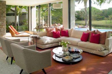 Ghế sofa vải mã 59