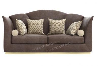 Bộ ghế sofa văng bọc vải đẹp cho phòng khách nhà ống mã 25