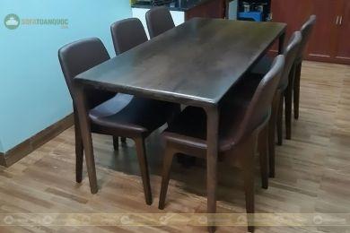 Bàn ghế ăn mã 52