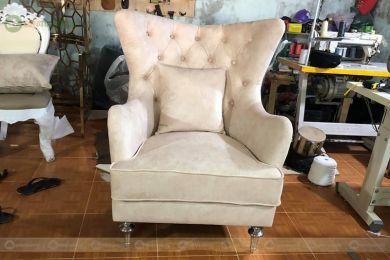 Ghế sofa armchair cổ điển mã 58