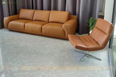 Sofa văng da phong cách hiện đại mã 158