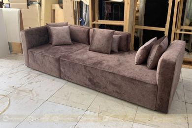 Sofa 2500mm bọc nỉ nhung mã 187