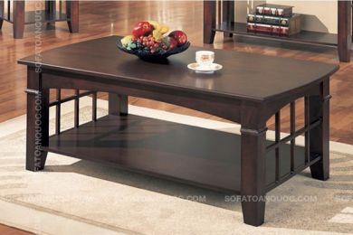 Mẫu bàn trà sofa gỗ sồi tự nhiên mã 16