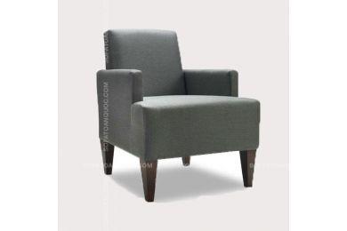 Ghế sofa đơn bọc vải đẹp cho phòng khách mã 30