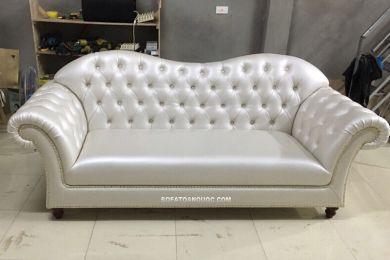 Mẫu sofa văng đơn dài 1 chiếc dài 2,2m