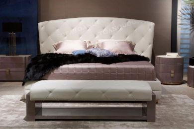 giường ngủ bọc vải mã 44