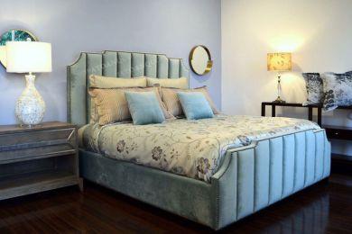 giường ngủ bọc vải mã 45-1