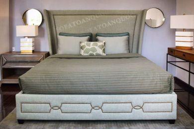 Giường ngủ bọc vải mã 48