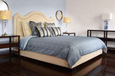 Giường ngủ bọc vải mã 49