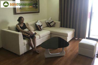 Ghế sofa chung cư bọc vải mã 73