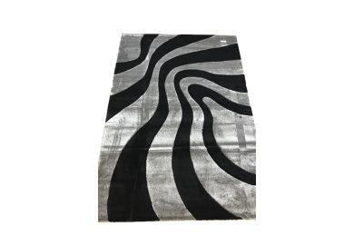 Thảm trang trí sofa phòng khách mã lam452 black silver