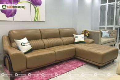 Sofa da nhập khẩu mã QV1509T