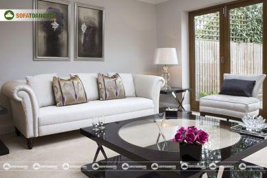 Ghế sofa vải mã 82