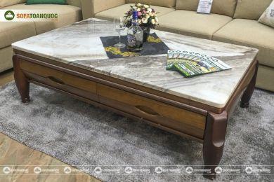Bàn sofa mặt đá nhập khẩu nguyên chiếc mã c837