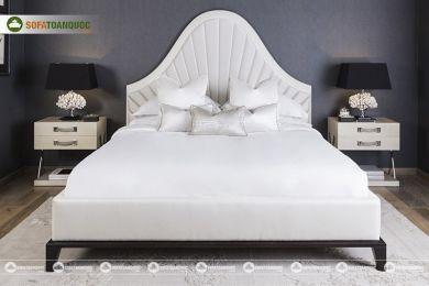 Giường ngủ bọc vải mã 64